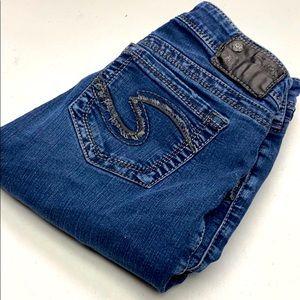Womens Silver Jeans Sz 28x30 @fresh